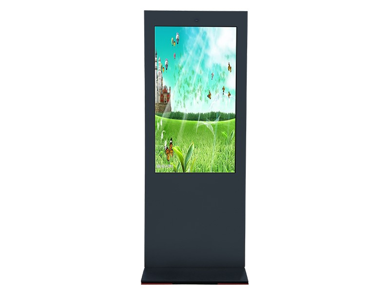 Outdoor digital totems